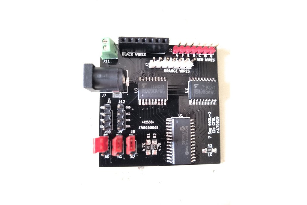 Sig7Seg - i2c controller for mechanical 7 segment 1