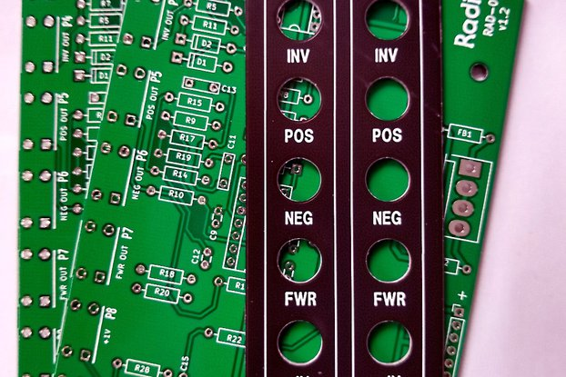 Rad-01 Voltage Utilities PCB/Panel