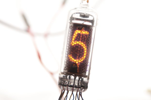 IN-16 NEW NIXIE TUBE RARE USSR DISPLAY