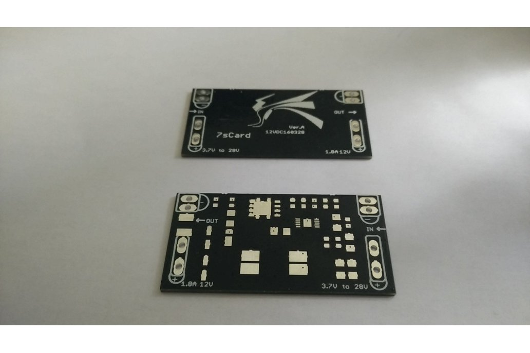 DC/DC breakout board, naked PCB for LT3757 1