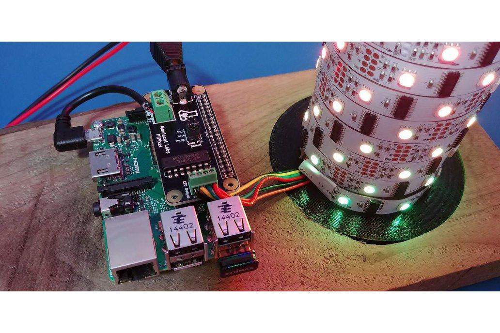 PiPixel - Raspberry Pi LED Strip HAT 4