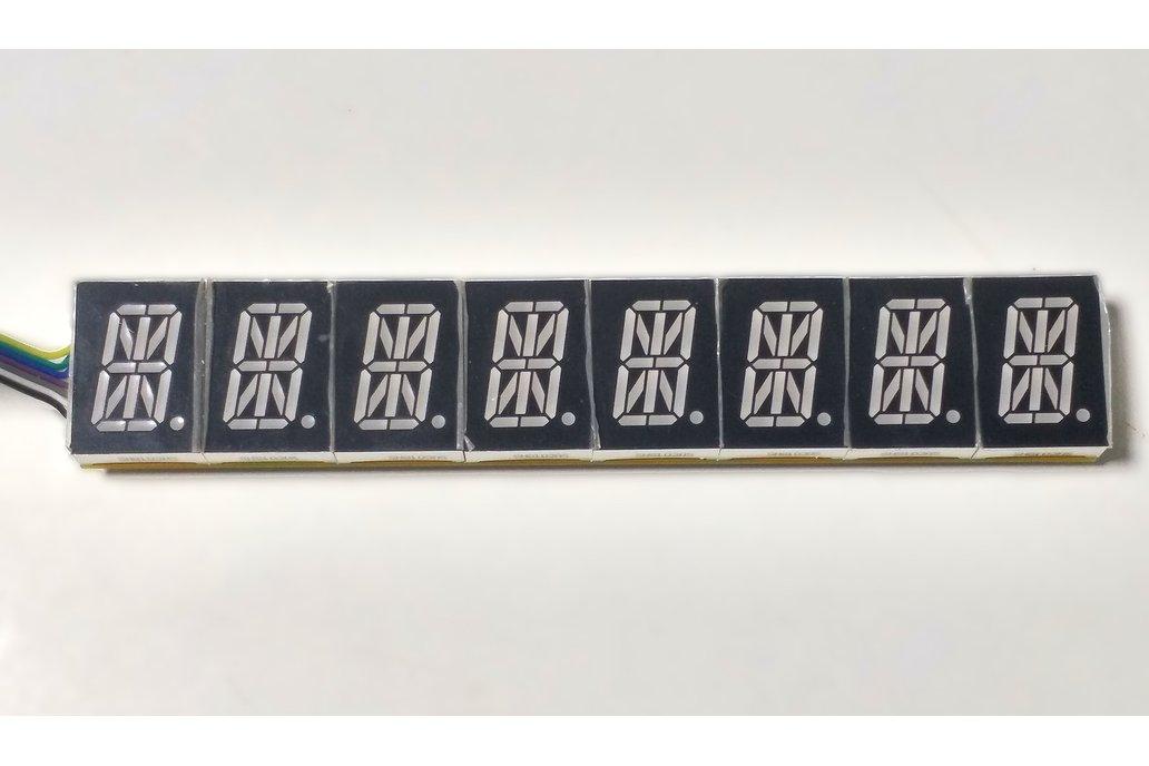 8 Digit 16 Segment LED Display Kit 1