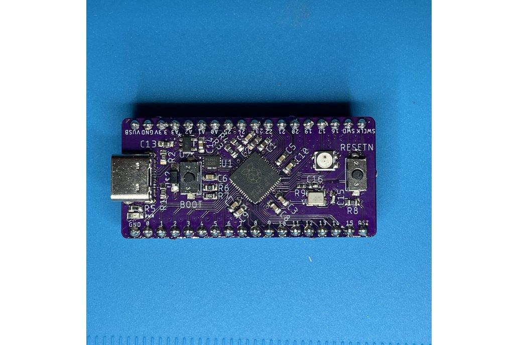 BREAD 2040 - A Breadboard Loving RP2040 Dev Board 1