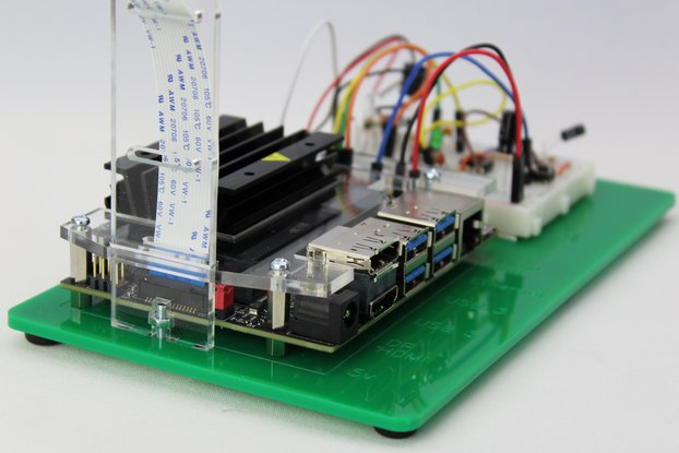 JetCase Breadboard for Jetson Nano Developer Kit