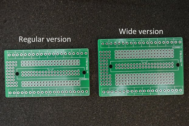 Screw Terminal Breakout PCB for Parallel Headers