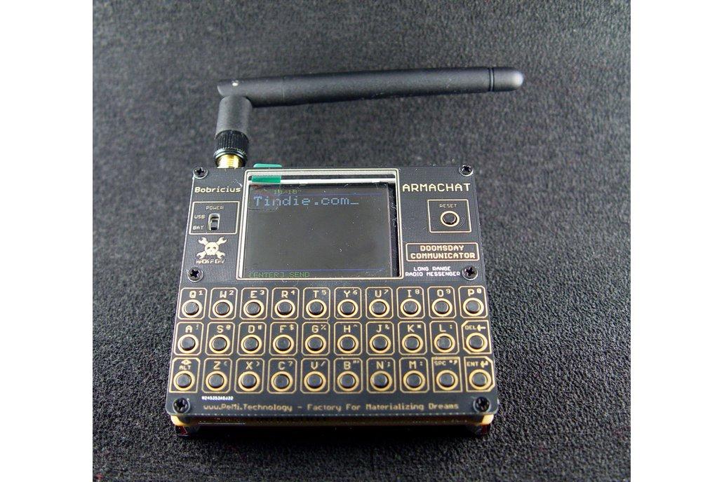 Armachat - LORA messenger  FUSION 2 version 1