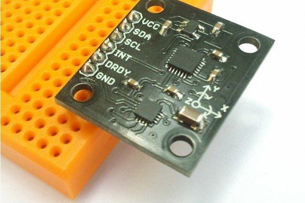 IMU 9 DoF Fusion - MPU6050 - HMC5883L - I2C