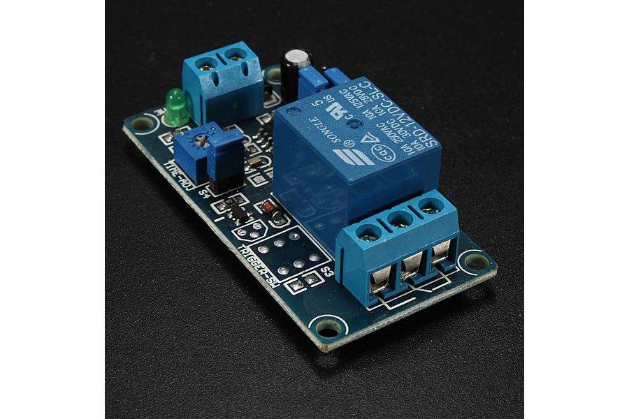 12V Power-ON Delay Relay Circuit