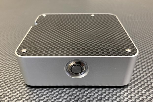 Carbon Fiber and Billet Aluminum Raspberry Pi Case