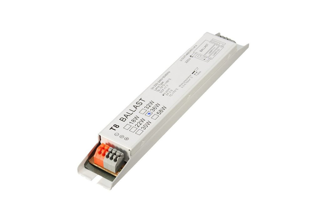 AC 220-240V 2x36W Wide Voltage T8 Electronic 1