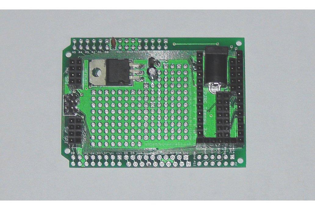 Teensy 3/LC Proto board, Arduino Shield, nRF24L01+ 3