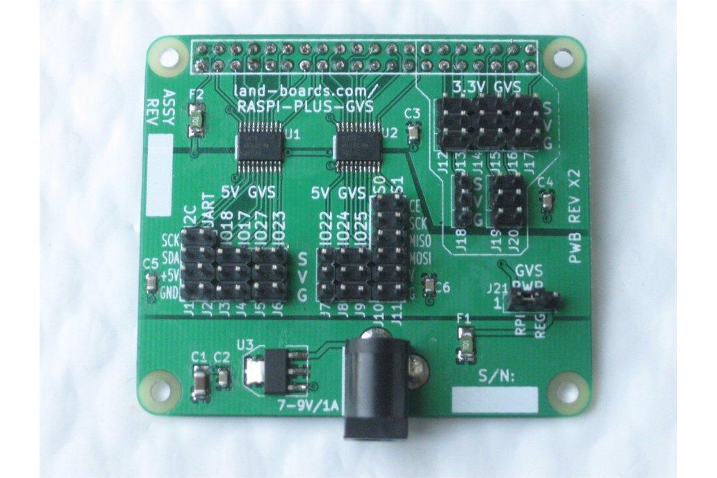 3.3V/5V Sensor Conn Card for Raspberry Pi A+/B+ 1