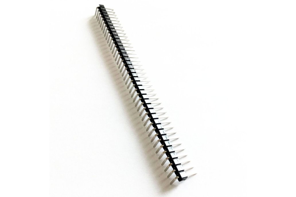 Headers - Right Angle Male Pins 1