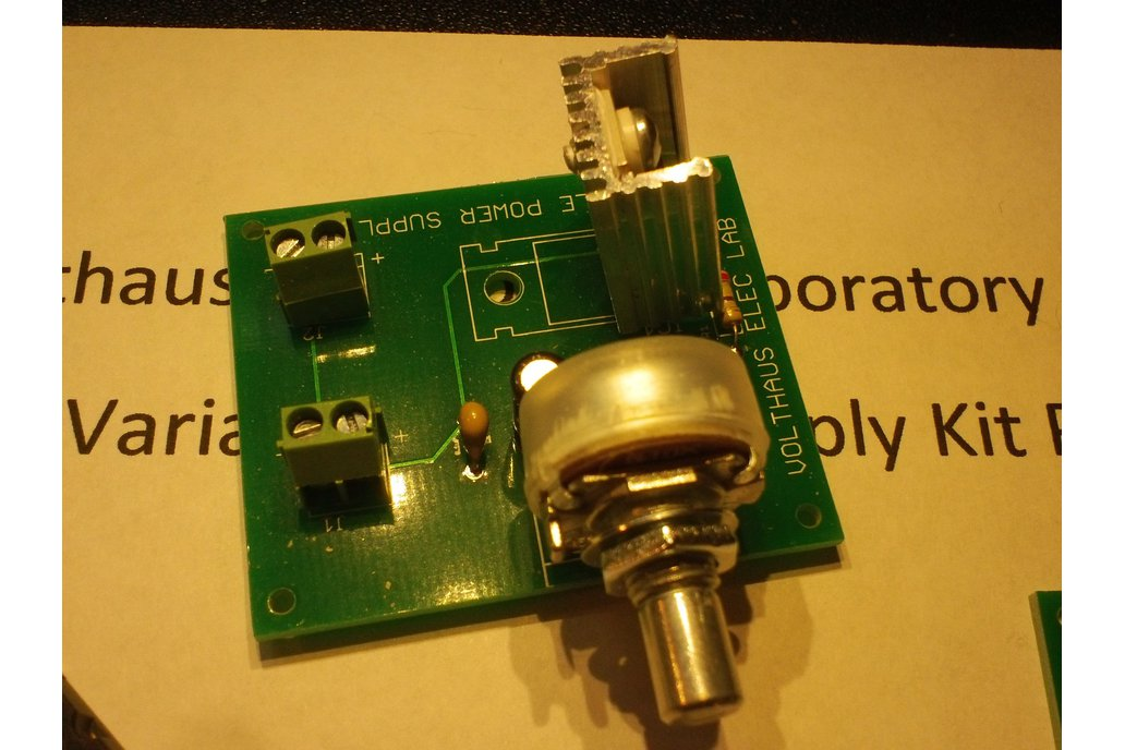 LM317T Variable Power Supply Kit 1