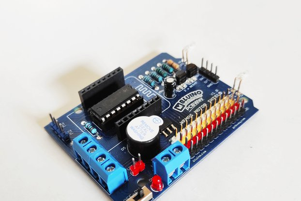 Wemos ESP8266 Motor Shield