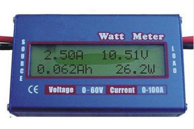 Energy analyser Watt metter Wh Ah Watts  Volt  Amp