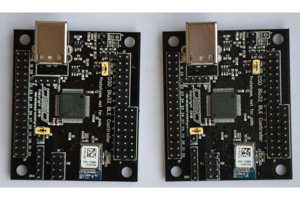 DSD Blu32 BLE Controller Development Prototypes 2