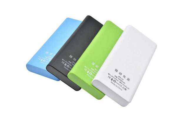 8x18650 Battery Box Power Bank Charger Holder