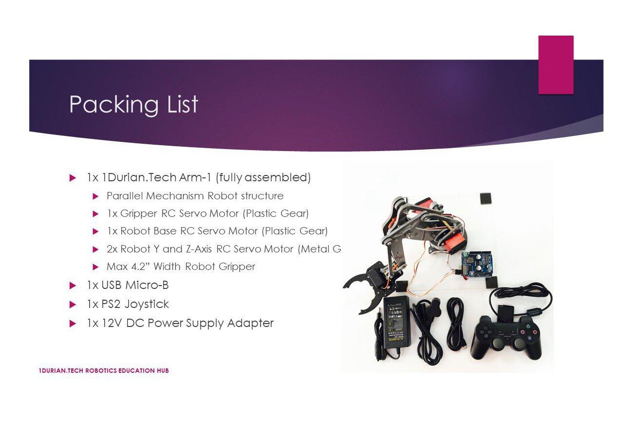 1Durian.Tech Robotics ARM-1