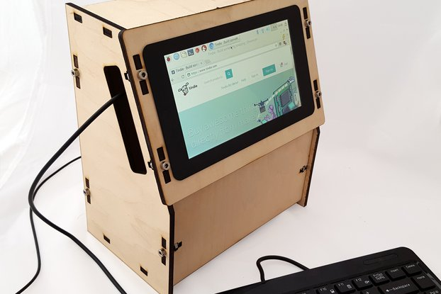 Raspberry Pi Display Project Cabinet