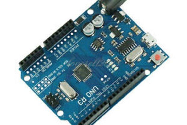 Arduino UNO R3 ATMEGA328P-16AU Micro USB