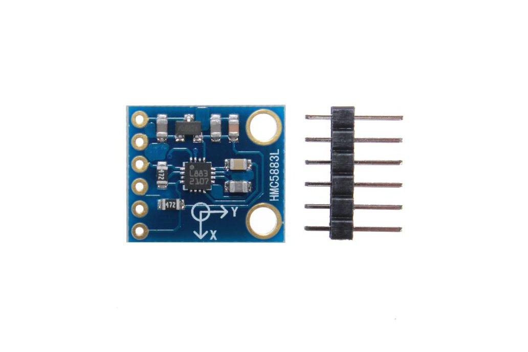 CJMCU-49 HMC5883L Electronic Compass Module Three Axis Magnetoresistive Sensor 2
