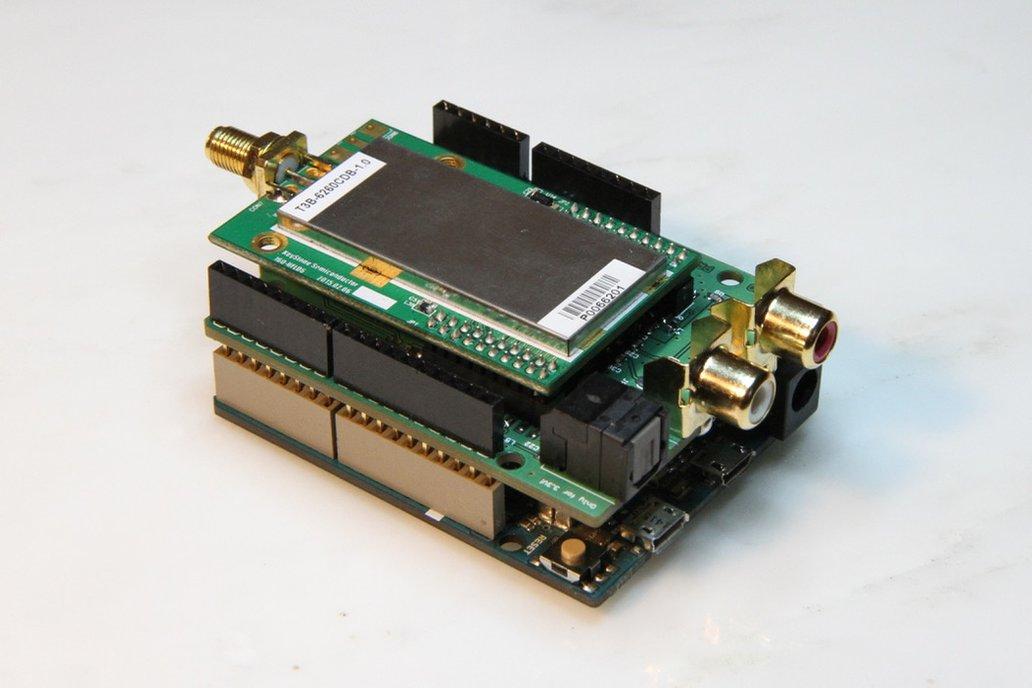 DABDUINO - DAB/DAB+/FM Arduino shield 1