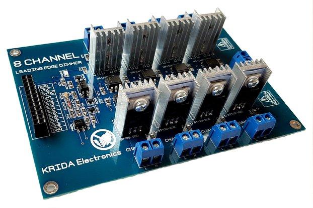 8CH AC LED Light Dimmer Module Controller Board V3