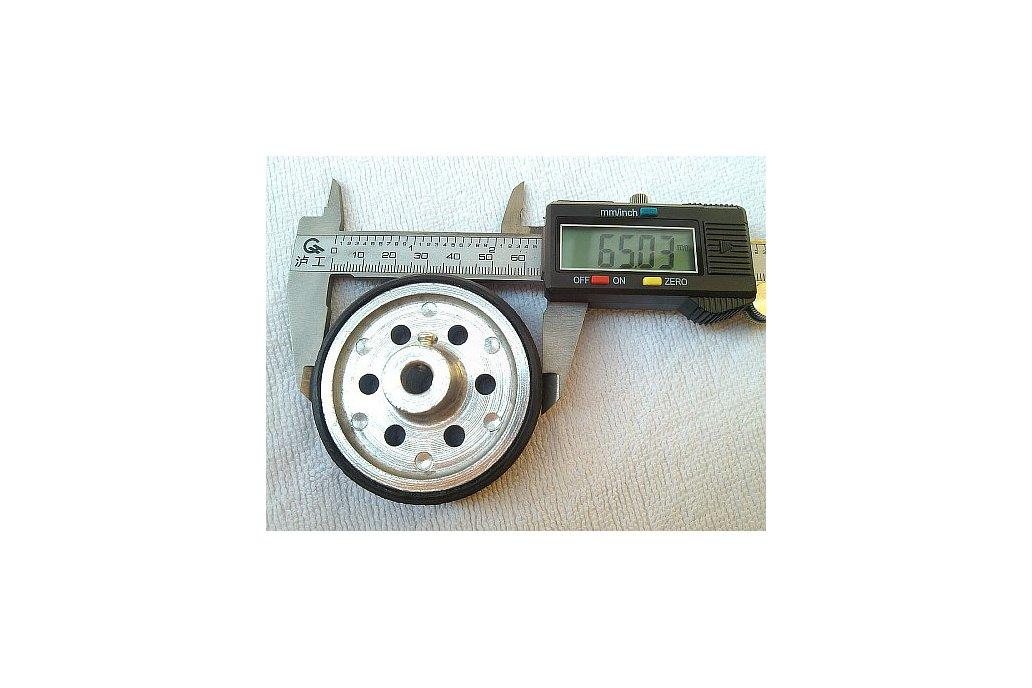 Alloy Metal 6/8mm Wheel 65mm Width 18mm  3