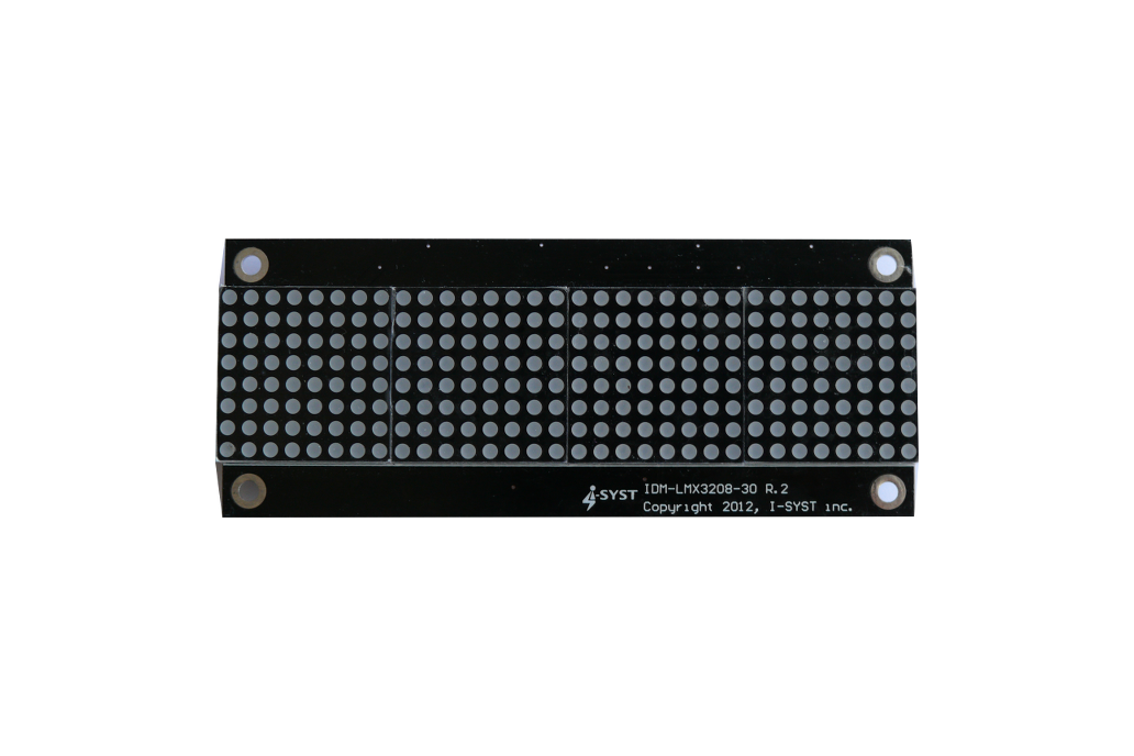 LED 32x8 matrix display board for Arduino, ARM 1