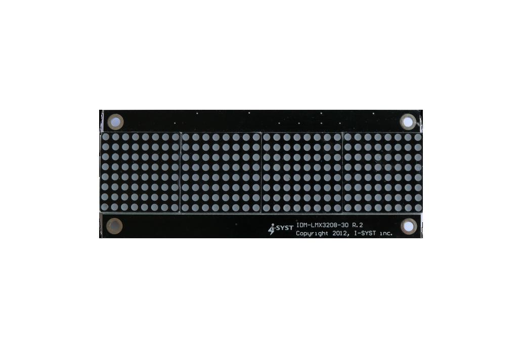 LED 32x8 matrix display board for Arduino, ARM 1