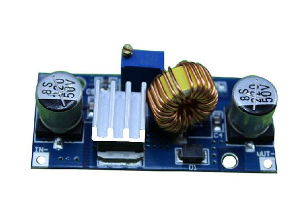5pc DC-DC adjustable step-down module