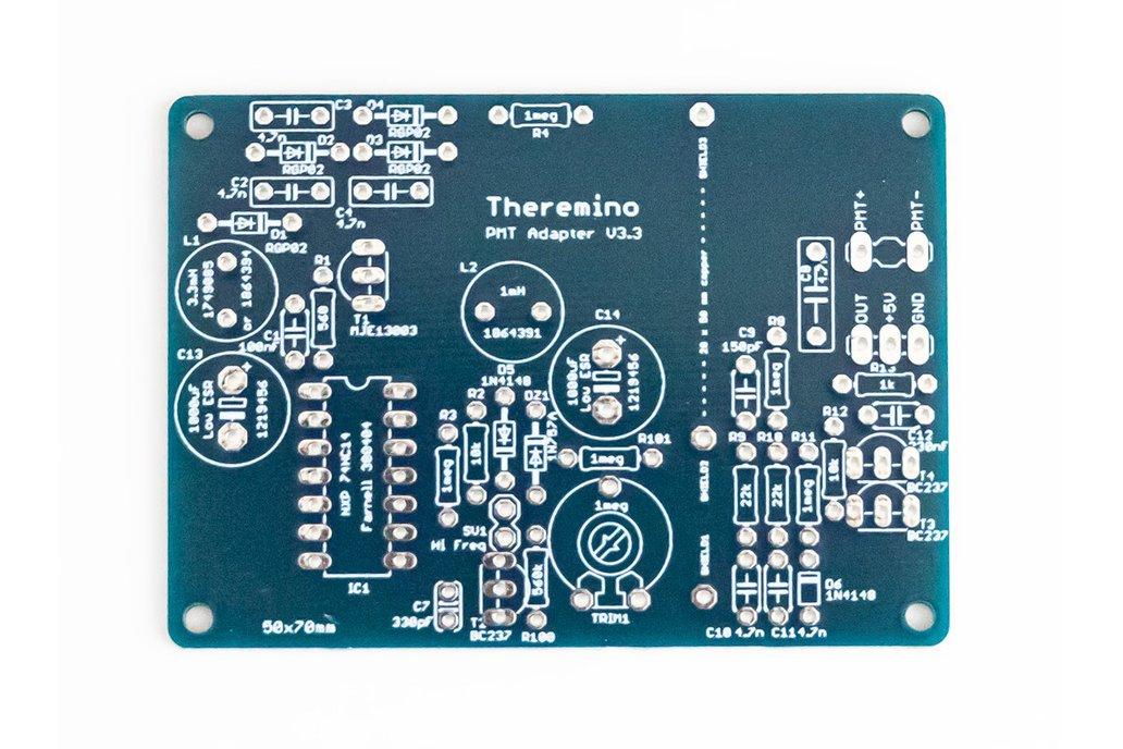 Theremino PMT Adapter v3.3 PCB 1