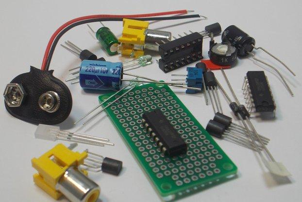 Dual Audio Pre-Amp Kit (#1425)