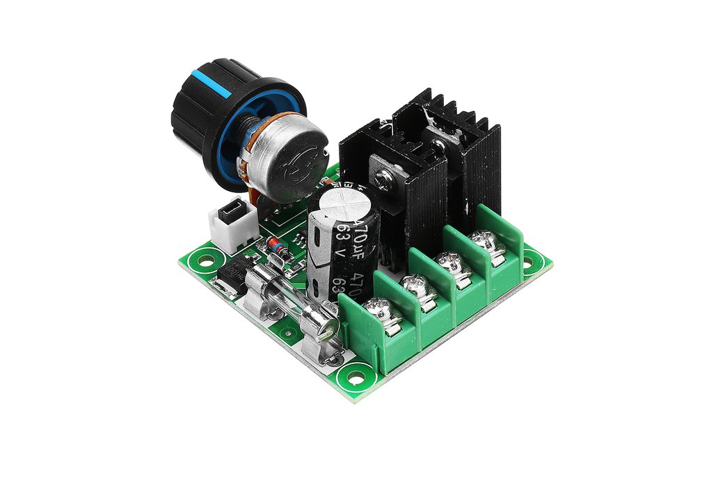 Motor Speed Controller  Module With Knob 1
