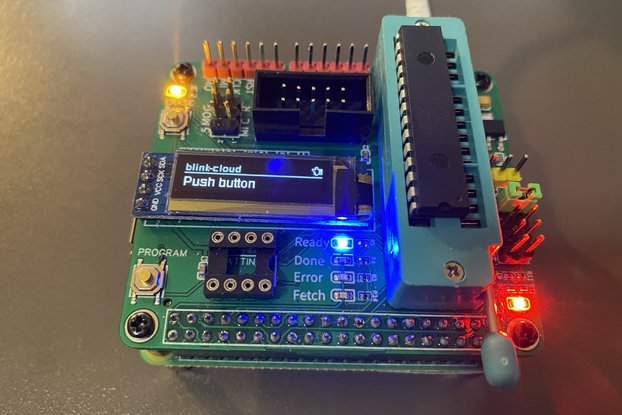 RPi HAT for programming micro controllers