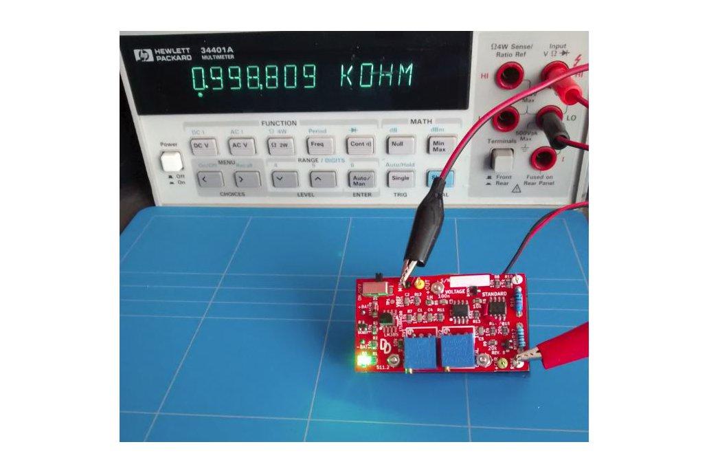 Voltage standard reference multimeter tester 3