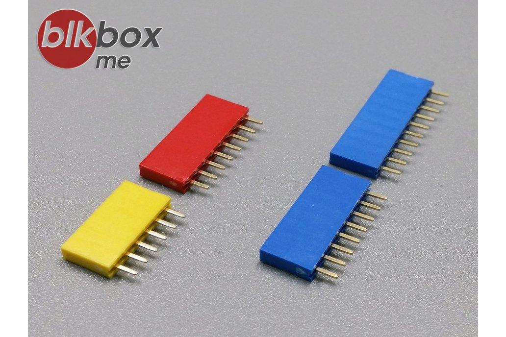 Rainbow Female Header for Arduino UNO R3 1