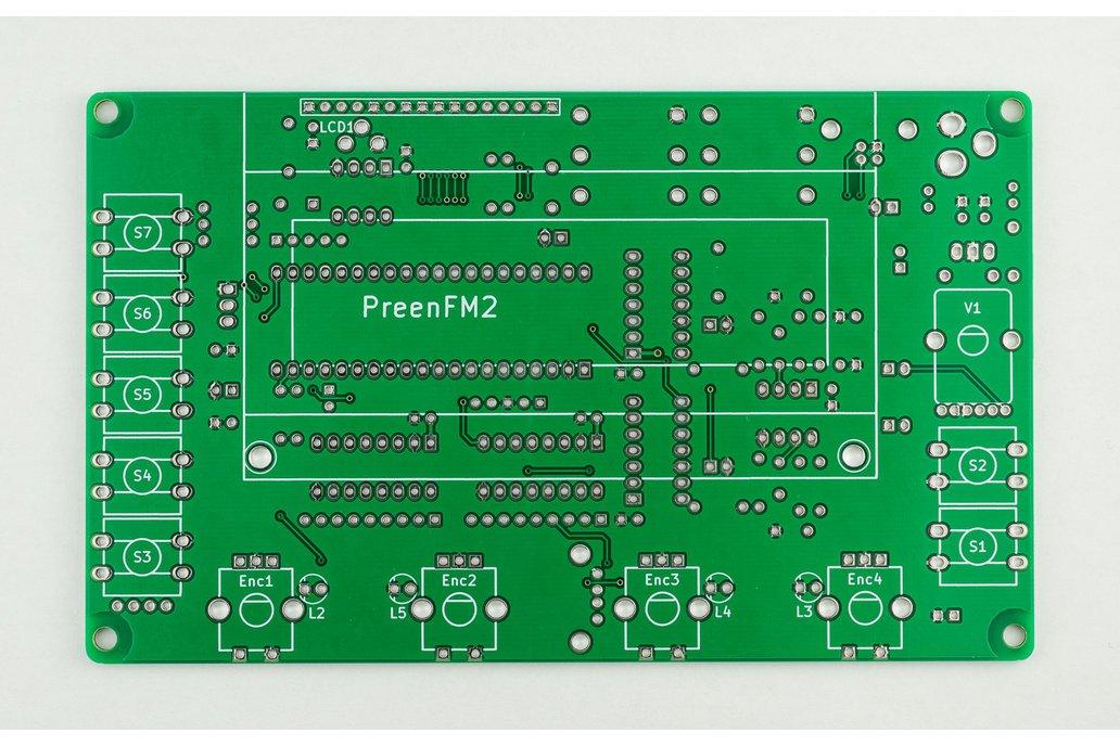 preenFM2 FM Synthesizer PCB + F405 MCU Board 3