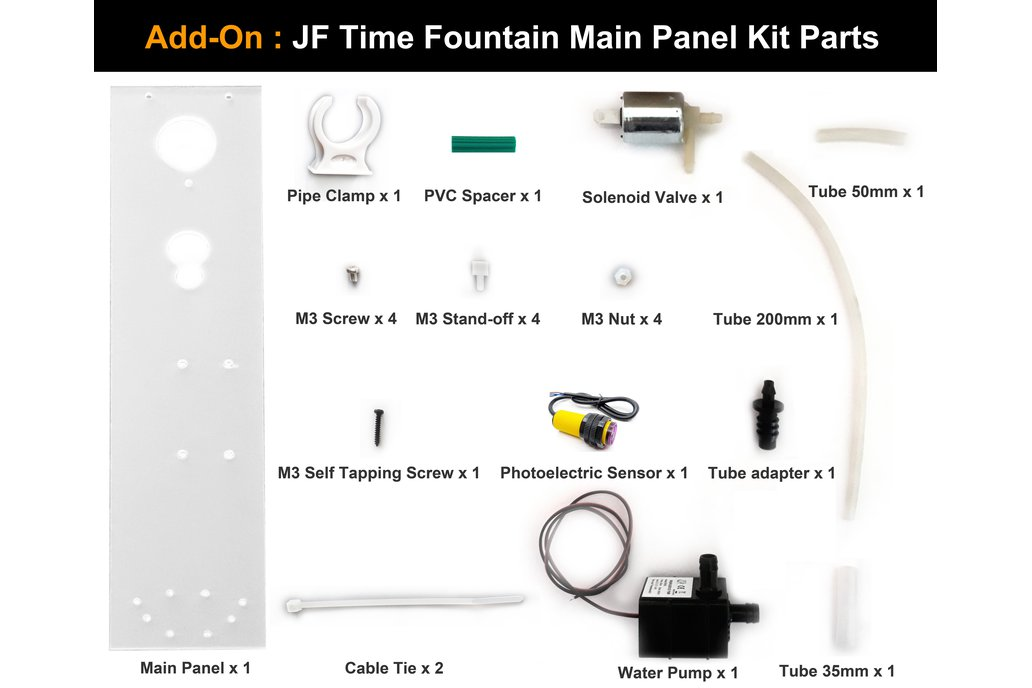 JF Time Fountain DIY Kit 6