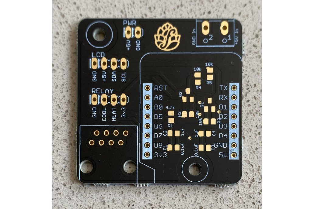 BrewPi-ESP8266 - Beta SMD PCB 1