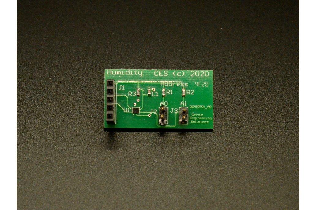 I2C Humidity board (With Arduino Code!) 1