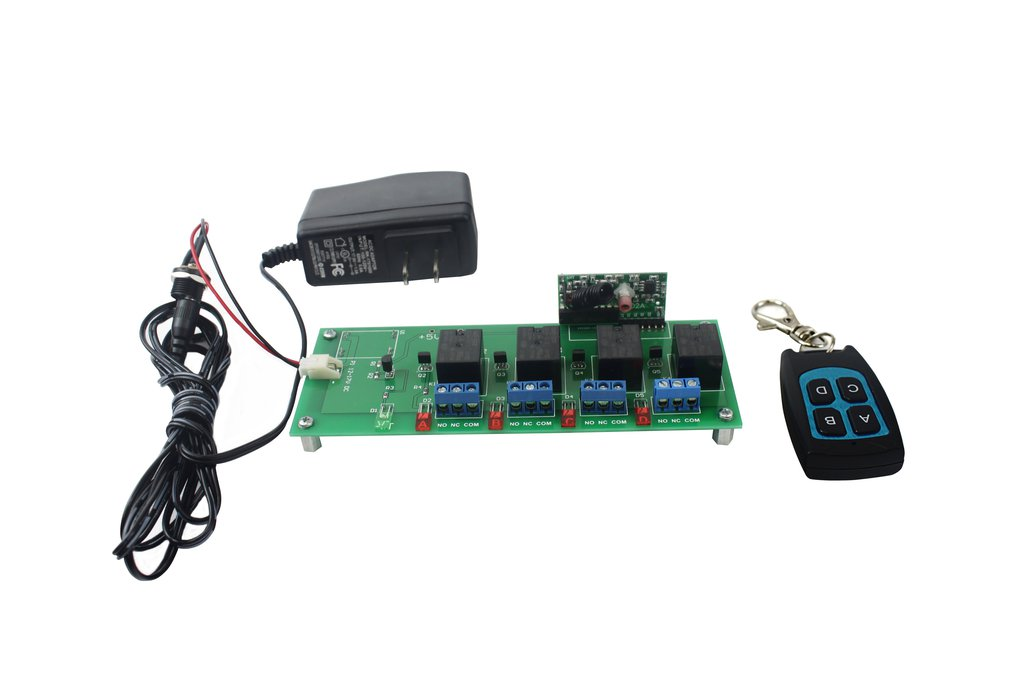4 Channel RF Remote Control 1