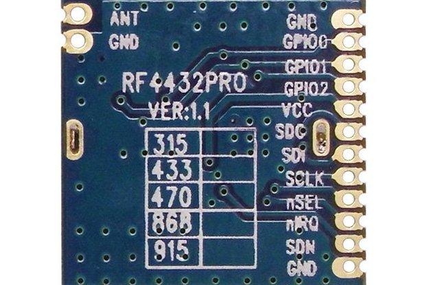 RF4432PRO-Si4432 wireless transceiver module
