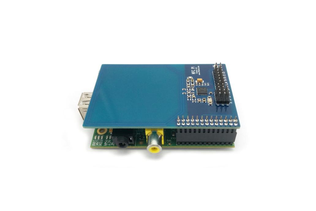 NFC Pi Classic - NFC Reader for Raspberry Pi® 1