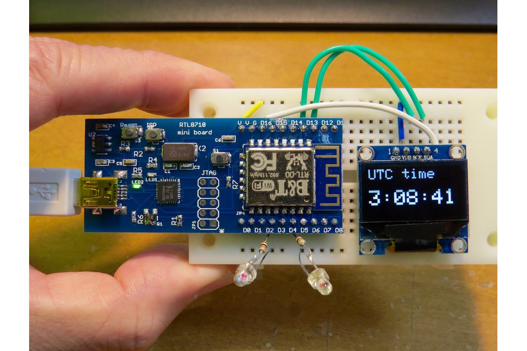 All-in-one RTL8710 prototyping board Ver 2 4