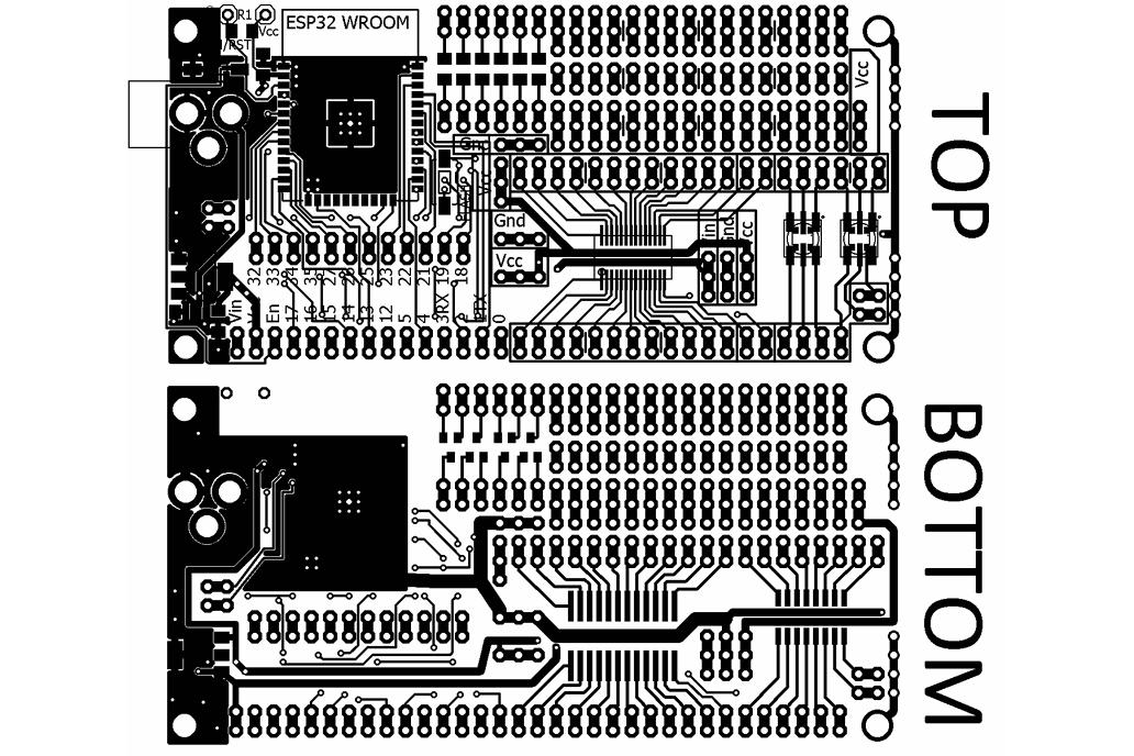 ESP32 Project Prototyping Board 2
