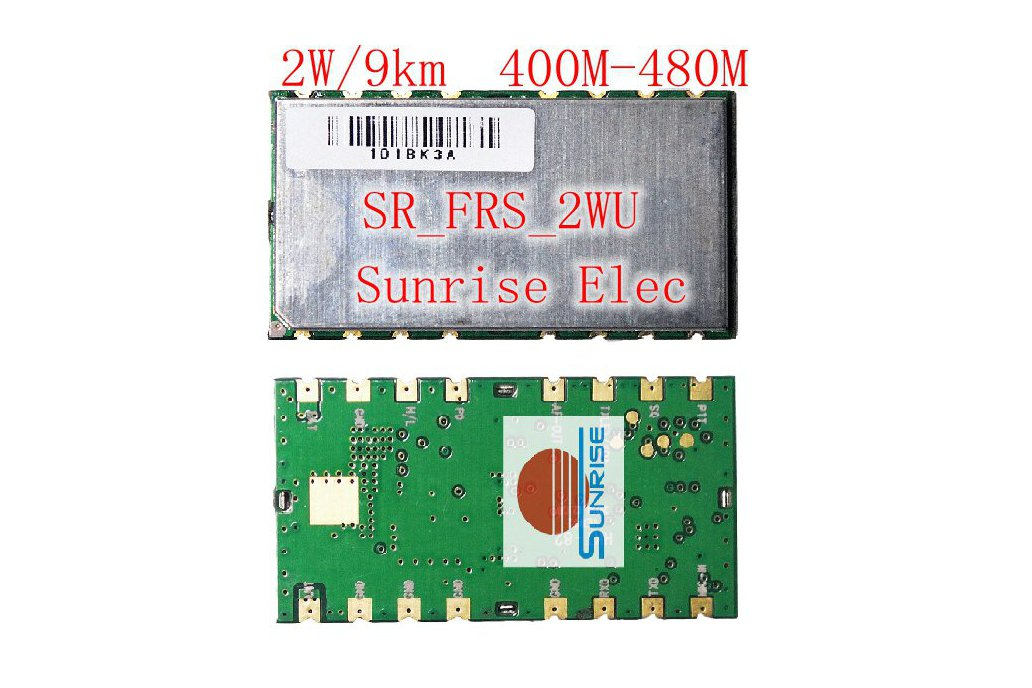 SR_FRS_2WUS  Two way radio module( 2W /400-470M) 1