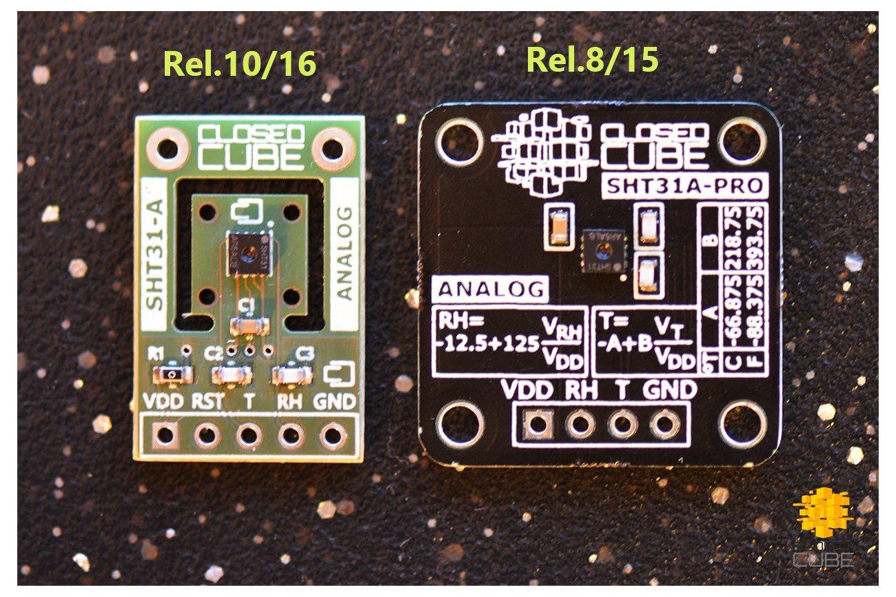 SHT31-A (Analog) Humidity & Temperature Sensor
