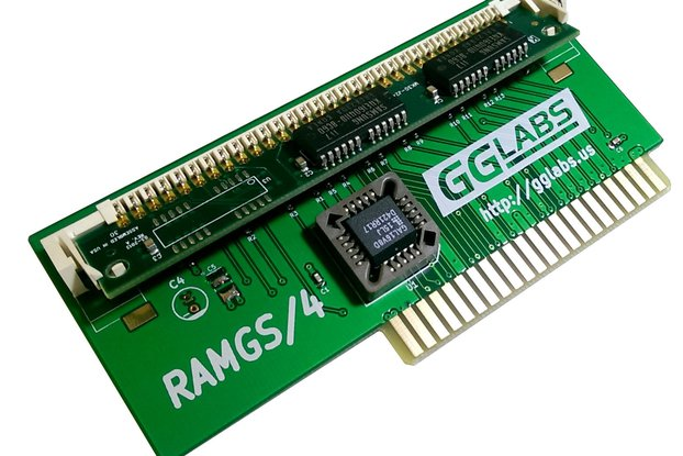 RAMGS/4 - 4MB expansion for Apple IIgs
